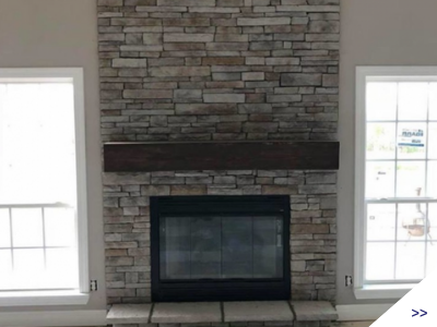 Click here to view photos of fireplaces and roofing