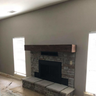 Nothing highlights a new home quite like a feature stone fireplace!