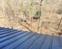 This new metal roof fits this custom home perfectly!